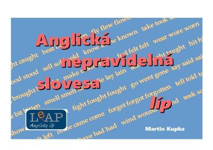 obálka jazykové příručky Anglická nepravidelná slovesa líp